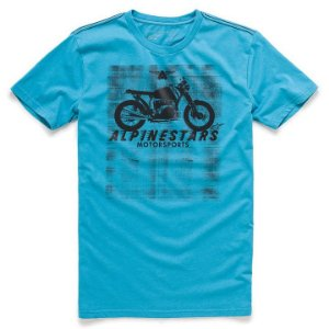 Camiseta Alpinestars Am Ride Azul
