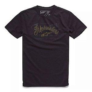 Camiseta Alpinestars Scratch Preta