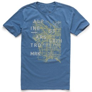 Camiseta Alpinestars Map Azul