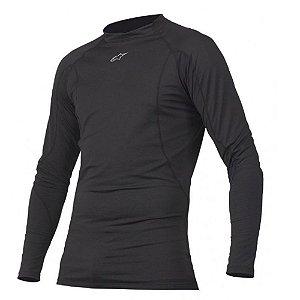 Camiseta Alpinestars Thermal Tech Top Preta