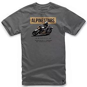 Camiseta Alpinestars Dee Cinza Escuro