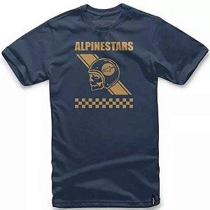 Camiseta Alpinestars Attitude Azul