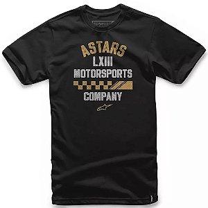 Camiseta Alpinestars Signage Preta