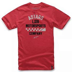 Camiseta Alpinestars Signage Vermelha
