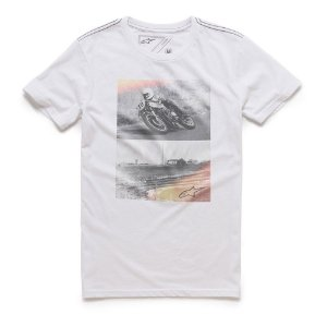 Camiseta Alpinestars Stack Branca