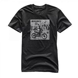 Camiseta Alpinestars Sunt Premium Preta