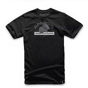 Camiseta Alpinestars Rocker Preta