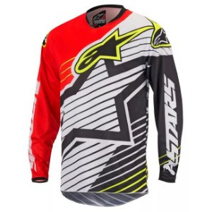 Camisa Alpinestars Youth Racer Braap 17 Vm Br Pt