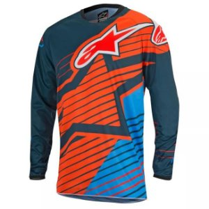 Camisa Alpinestars Youth Racer Braap 17 Ptl Az Lr