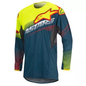 Camisa Alpinestars Techstar Factory 17 Ptleo Am Vm