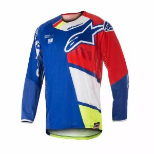 Camisa Alpinestars Techstar Factory 18 Az Vm Br Am