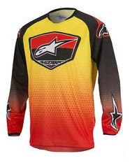 Camisa Alpinestars Racer Supermatic 17 Vm Pt Am