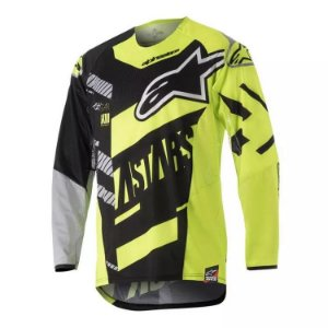 Camisa Alpinestars Youth Race Screamer 18 Pt Am Cz