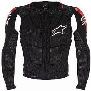 Jaqueta Moto Alpinestars Bionic Pro Preta Vermelha Branca