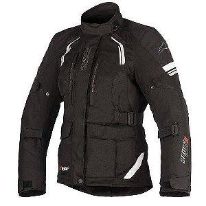 Jaqueta Moto Feminina Alpinestars Andes V2 Preta Impermeável