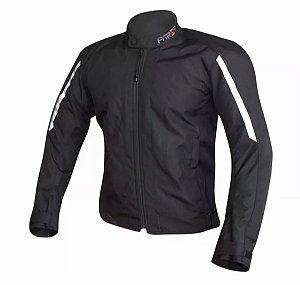 Jaqueta Moto Forza City Rider Winter Preta Impermeável