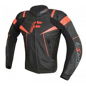 Jaqueta Moto Forza Mugello Racing Preta Vermelha