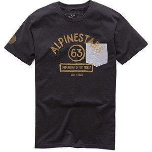 Camiseta Alpinestars Paint Premium Preta