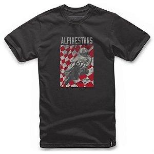 Camiseta Alpinestars Cover Preta