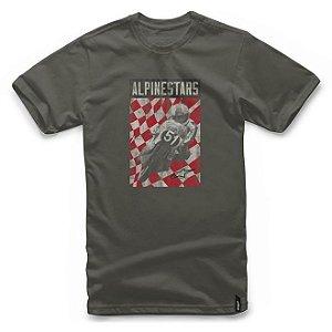 Camiseta Alpinestars Cover Verde Militar