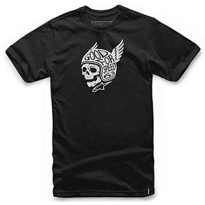 Camiseta Alpinestars Demon Preta