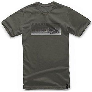 Camiseta Alpinestars RR Verde Militar