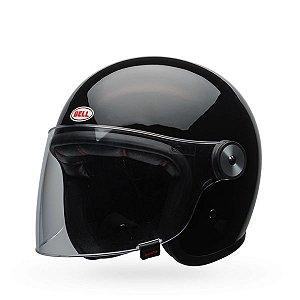 Capacete Moto Bell Riot Solid Preto