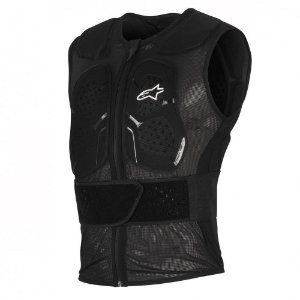 Protetor de Coluna Moto Alpinestars Track Vest 2 Preto