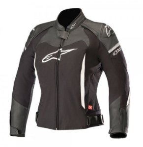 Jaqueta Moto Feminina Alpinestars SP X Preta Branca