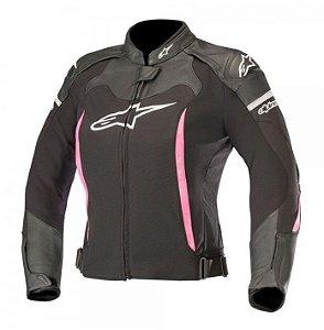 Jaqueta Moto Feminina Alpinestars SP X Preta Rosa