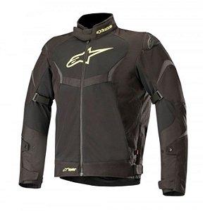 Jaqueta Moto Alpinestars T-Core Verão Impermeável Pt Am