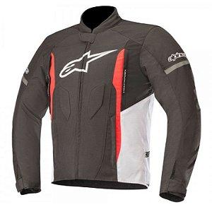 Jaqueta Moto Alpinestars T-Faster Preta Branca Vermelha