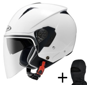 Capacete Moto Zeus 205 Branco Pérola