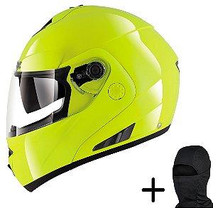 Capacete Moto Shark Openline Hi Visibility Amarelo