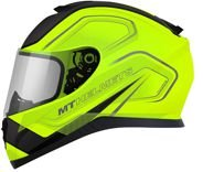 Capacete Thunder3 Trace Matt Yellow