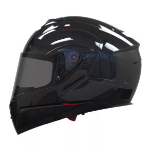 Capacete SV Atom Solid Gloss Black