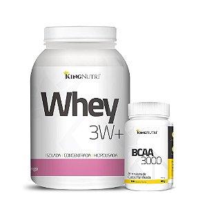 Combo - Whey 3W+ e BCAA 3000