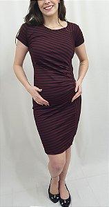 Vestido Justo Gestante Neoprene