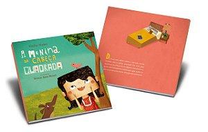 """Livro """"A Menina da Cabeça Quadrada"""" - Emília Nuñez"""