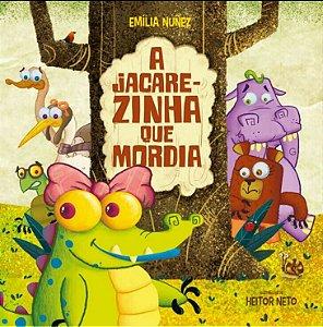 """Livro infantil:  """"A Jacarezinha que mordia"""""""