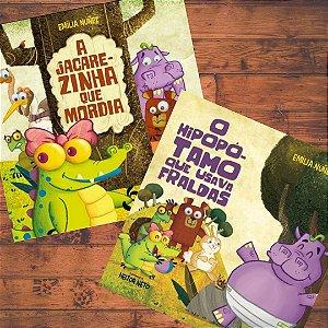 A turma da Jaquinha (A Jacarezinha que Mordia + O hipopótamo que usava fraldas)
