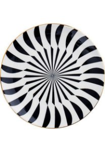 Prato Decorativo geométrico
