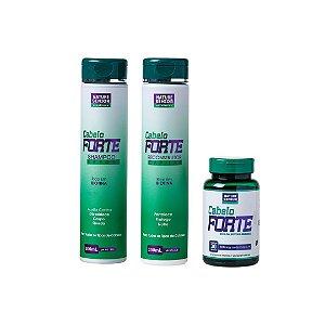 Kit Cabelo Forte- 3 itens