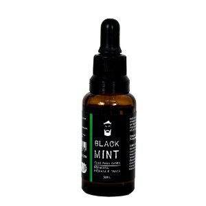 Óleo para barba Black Mint (Beard oil) 30ml