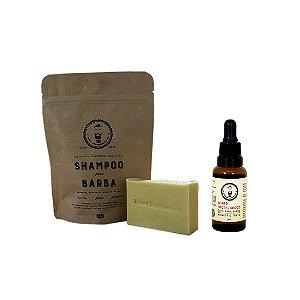 Shampoo e óleo para barba BBinc 30ml