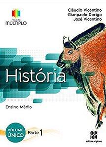 Projeto Múltiplo - História - Volume Único - Coleção completa 03 partes