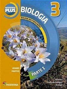 Moderna Plus Biologia 3 - Biologia das Populaçôes - Parte I
