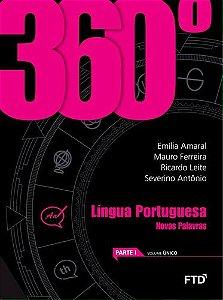 360º - NOVAS PALAVRAS - PORTUGUÊS - ENSINO MÉDIO
