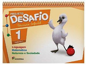Projeto Desafio Linguagem, Matemática e Natureza e Sociedade - Volume 1