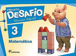 Projeto Desafio - Matemática - Volume 3